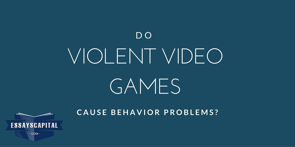 Do video games promote violence essay